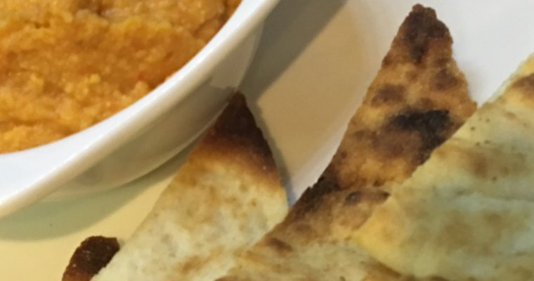 Hummus de Garbanzo con Pimiento Piquillo