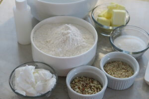 Ingredientes Polvorones